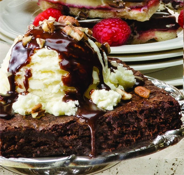 Salty Turtle Brownie Sundae