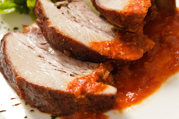 Spicy Jamaican Pork Tenderloin