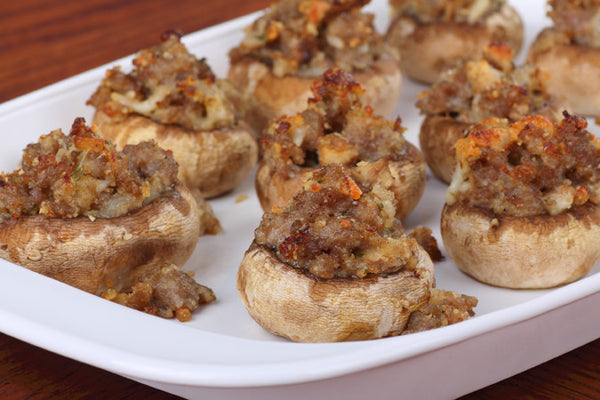Marsala Stuffed Mushrooms