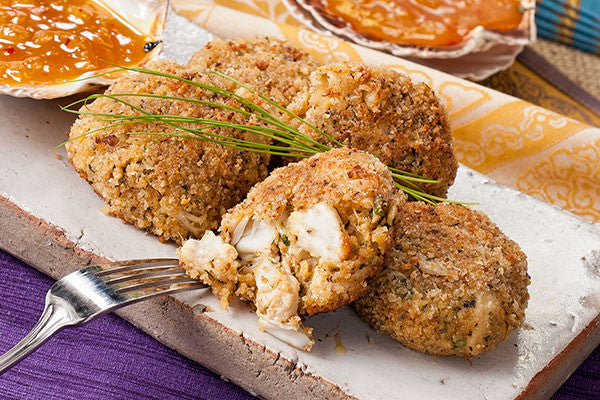 Tropical Crab Cakes