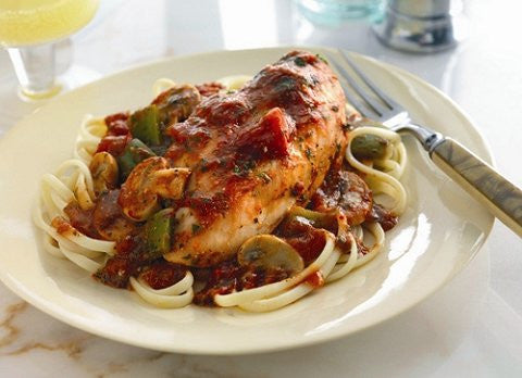 Chicken Cacciatore with Marinara