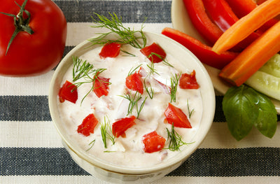 Creamy Red Pepper & Onion Dip