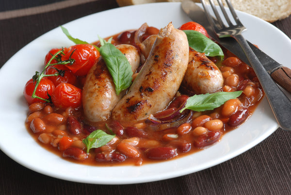 Smoked Sausage and Bean Casserole