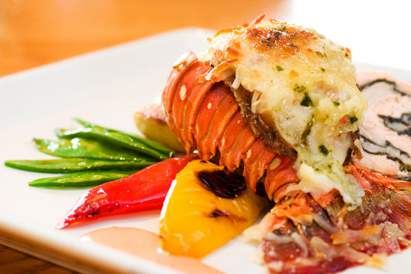 Stuffed Baked Lobster