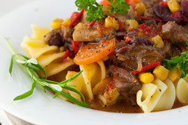Slow Cooker Pasta and Beef