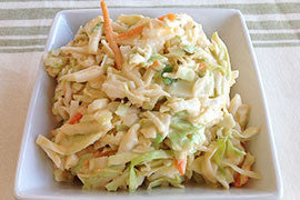 Onion Blossom Coleslaw