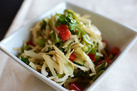 Ginger Wasabi Chilled Noodle Salad