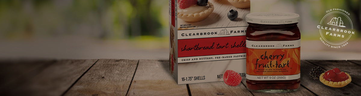 Clearbrook Farms Tart Fillings & Shells