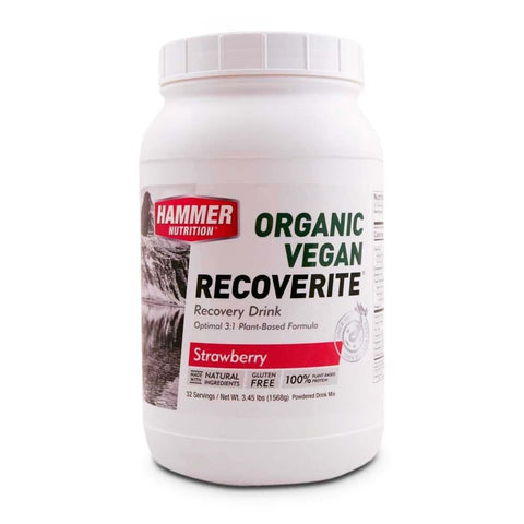 Organic Vegan Recoverite - Strawberry - Hammer Nutrition Canada