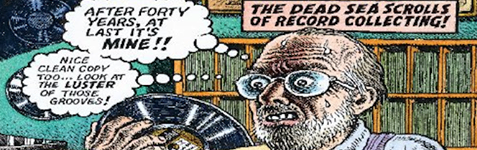 Jazz Record Collectors Robert Crumb