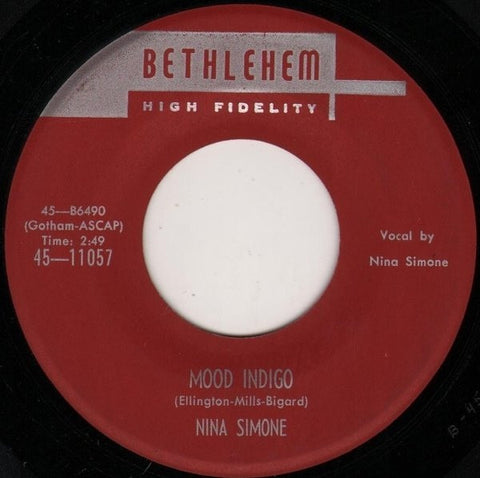 Nina Simone - Mood Indigo / Central Park Blues