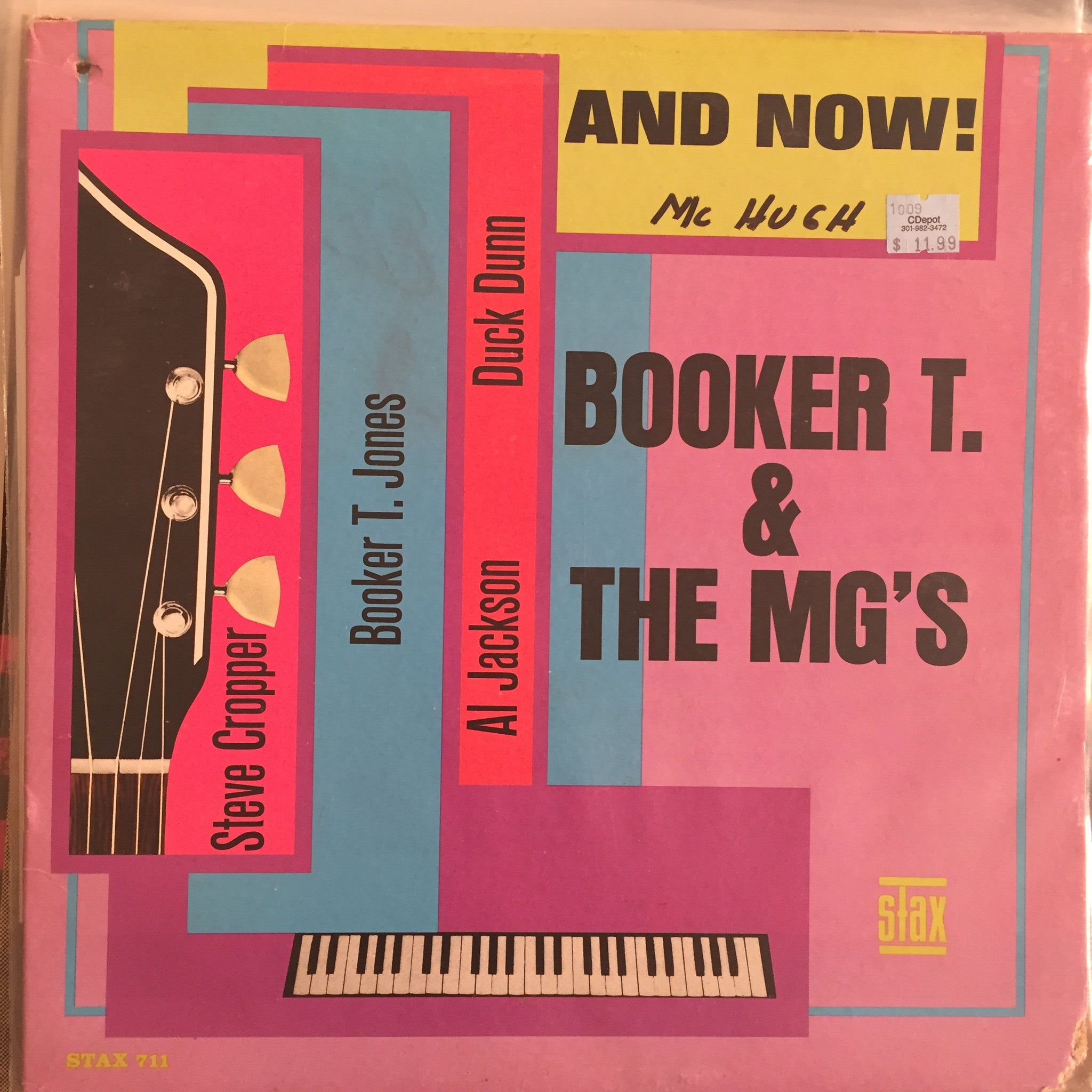 Booker T & The MG's - And Now!