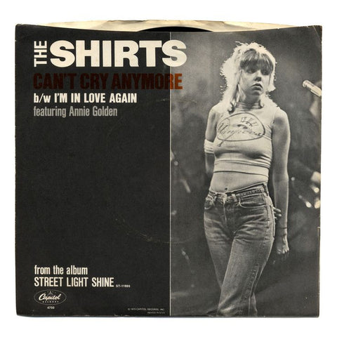The Shirts - Can't Cry Anymore