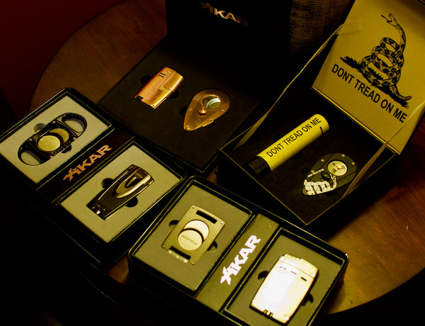 Xikar Don't Tread On Me Dark Ages Rose Gold Magnetic Gift Set