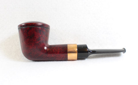 Straight Dublin Copper Inset Unsmoked Estate Pipe
