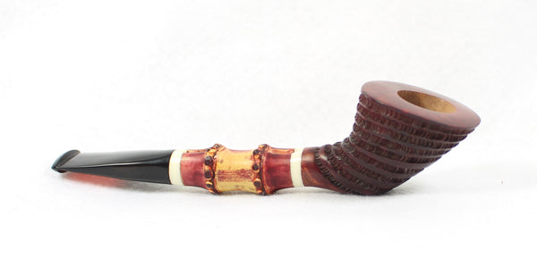 Sherwood Pipes Bamboo Dublin Unsmoked Estate Pipe