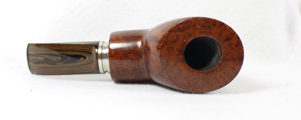 Paul's Pipes Reverse Calabash Setter Unsmoked Estate Pipe