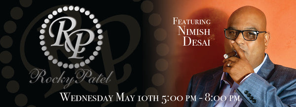 Rocky Patel Event With Nimish Desai Tickets 5/10/19