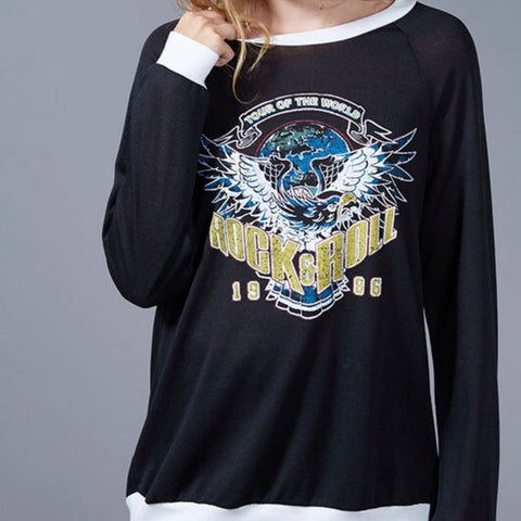 Rock n' Roll Sweatshirt - Amber Moon
