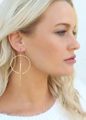 Gemini Earrings - Amber Moon