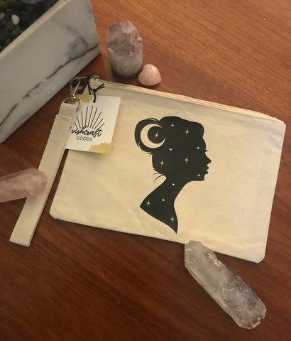 Cosmic Lady Pouch | Wishcraft Goods