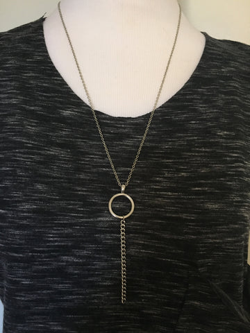 Keyhole Drop Necklace | Armor & Arrows