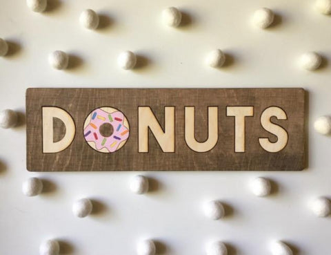 """Donuts"" Coffee Table Puzzle 