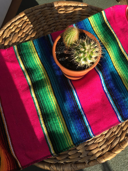 Mexican Serape Placemats // Set of 4