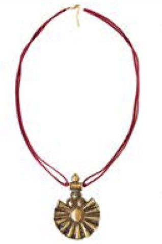 Queen's World Double Rope Necklace | Armor & Arrows - Amber Moon