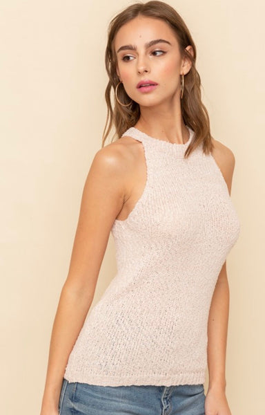 Halter Sweater Tank