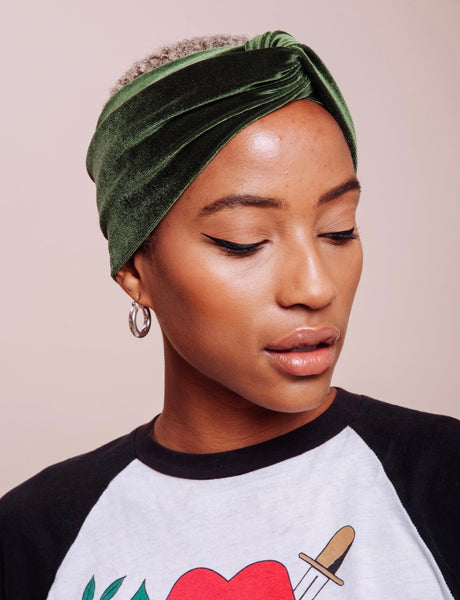 70's Dream Velvet Turban