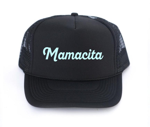 The Mamacita Trucker Hat - Amber Moon