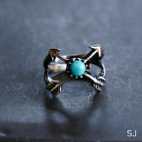 Mia Arrow Turquoise Ring - Amber Moon