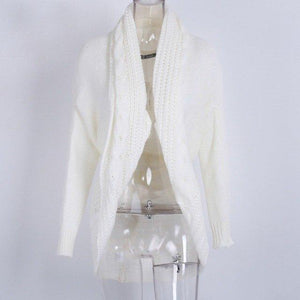 Winter Knitted Sweater Cardigan Shrug by Pesci Moda
