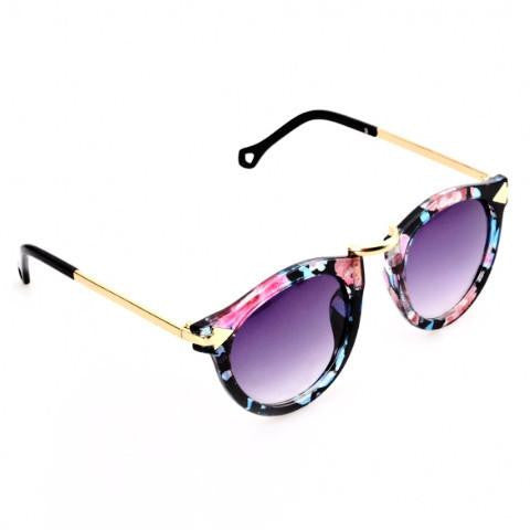 Hot Fashion Floral Unisex Sunglasses by Pesci Moda