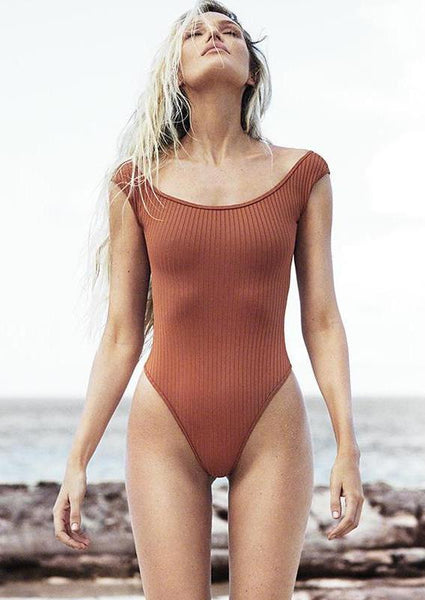 Sexy High Cut Monokini Bathing Suit