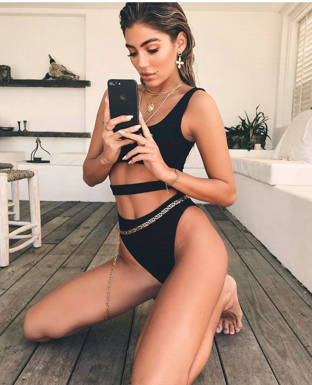 Sexy Cut Out Bandage Beach Swimsuit