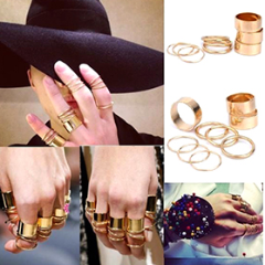 3PCS/Set Knuckle Ring by Pesci Moda