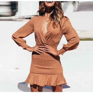 Casual Sexy Ruffles Party Dress