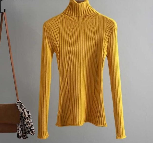 Casual Turtleneck Sweater