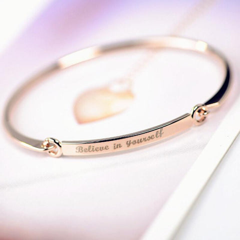 Custom Engraved Bracelet Bangle
