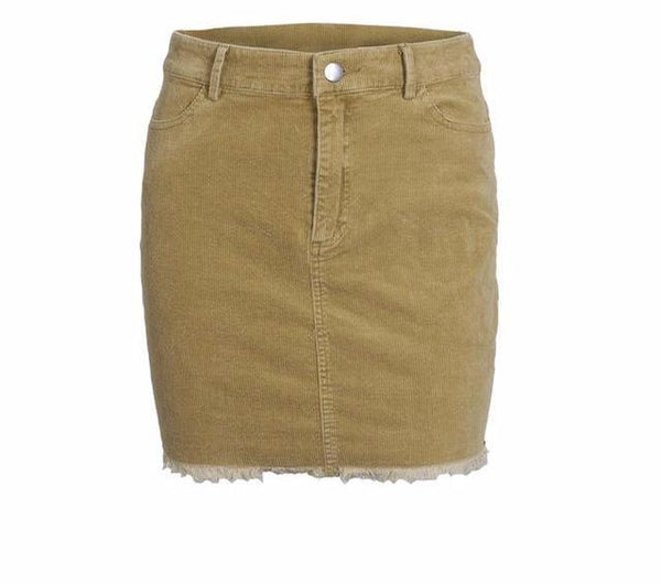Vintage Corduroy Short Skirt by Pesci Moda