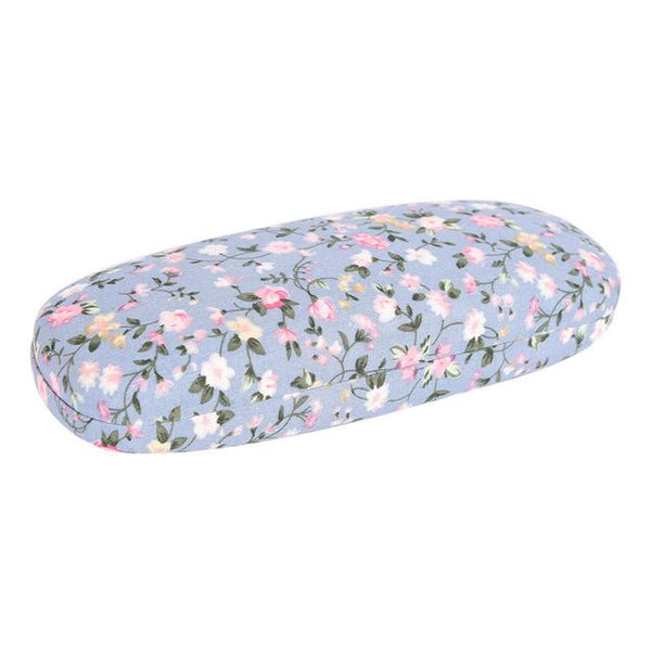 Eyeglasses Floral Hard Case (4 Colors)