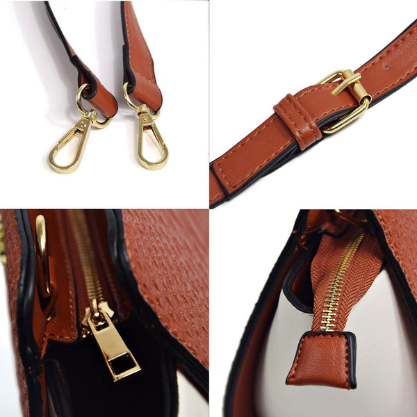 New Fashion Leather Crossbody Handbags by Pesci Moda