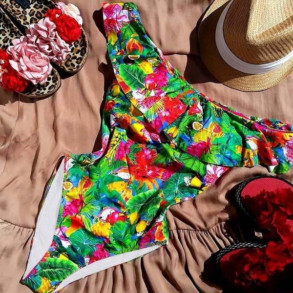 Beach Kissed Off Shoulder Swimsuit