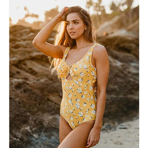 Sunshine Floral Swimsuit