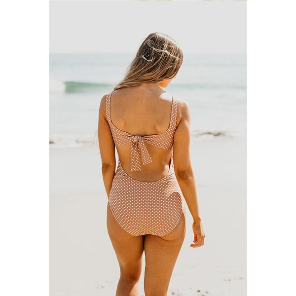 Beach Warm Dotted Swimsuit