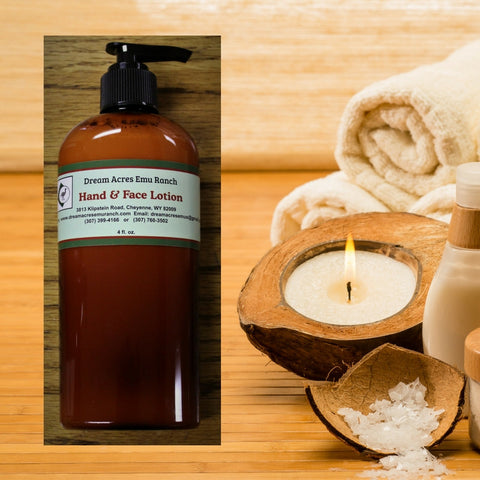 Natural Body Lotion - All Natural and Lightly Scented
