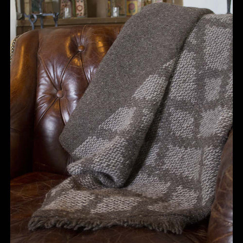 Handwoven Churro Wool Blanket