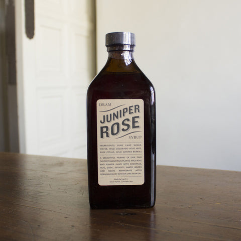 Juniper Rose Syrup